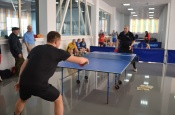 Первый городской турнир по настольному теннису прошел с успехом