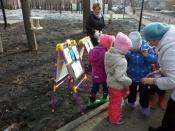 В городе Назарово появилась столовая для птиц