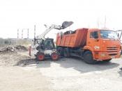 «Эко-Транспорт» ликвидировал несанкционированную свалку в городе Назарово