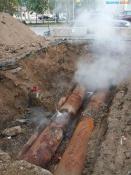 Назаровцам рекомендуют не приближаться к местам парения на трубопроводах