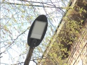 Первые светодиодные уличные фонари появились в городе Назарово