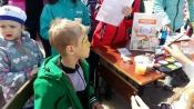 Аква грим в День города поможет внести вклад в благотворительный фонд