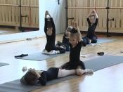Спустя десять лет в городе Назарово возродили художественную гимнастику