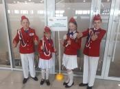 Команда Подсосенкой школы достойно выступила на Всероссийских соревнованиях