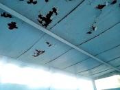 Назаровца удивила остановка с дырами в крыше во время дождя