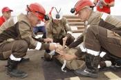 Назаровские горноспасатели стали вторыми в крае