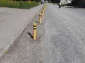 К парковке рядом с новым сквером в городе Назарово появились претензии