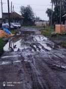 На частный сектор в городе Назарово не хватает ни средств, ни подсыпки