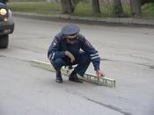 Дорогу на въезде в город Назарово больше нельзя латать заплатками