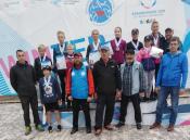 Назаровские спортсмены призеры по летнему биатлону
