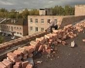 Более 700 квадратных метров кровли заменят на здании детской поликлиники