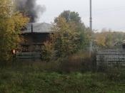 Огнеборцы потушили возгорание рядом с охраняемой автостоянкой (видео)