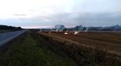 В Назаровском районе поджигают сельскохозяйственные поля