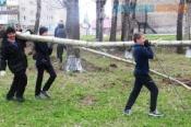 В субботу в городе Назарово запланировали генеральную уборку