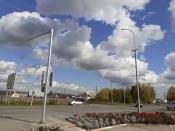 Новый светофор появился на перекрестке с улицей Советская