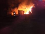 По вине неизвестных лиц пожары наносят ущерб назаровцам