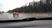 Назаровцы делятся снимками и видео снега на обочинах краевых дорог