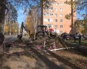На улице Чехова промоют ливнёвку и уберегут пятиэтажку от подтопления