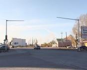 Оборвали провода: новый светофор в городе Назарово испортили вандалы