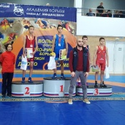 Назаровские спортсмены достойно выступили в Академии борьбы имени Миндиашвили