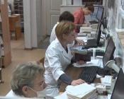 В поликлинике города Назарово работают онлайн-консультации с краевыми врачами