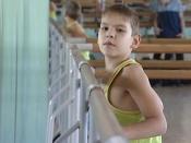 10-летний назаровец с ДЦП мечтает стать чемпионом спорта по пауэрлифтингу