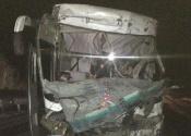 На дороге Ачинск-Назарово столкнулись автобус и самосвал. Водитель погиб