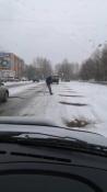 Город Назарово, как уверяют подрядчики, готов к снегу и гололёду