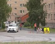 В городе Назарово было непросто установить «лежачих полицейских»