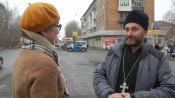 Назаровские инспекторы ГИБДД провели акцию «Божье слово для нарушителей»