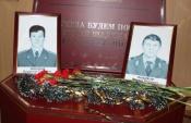 В городе Назарово почтили память погибших сотрудников полиции