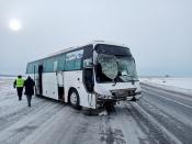 Все пассажиры живы. Подробности ДТП с автобусом на трассе Ачинск-Ужур-Троицкое