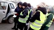 Родительская общественность отдаленного поселка Назаровского района поддержала акцию #ПешеходныйВсеобуч»