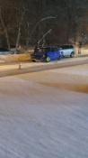 Массовое ДТП в городе Назарово спровоцировала автоледи
