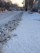 Все снежные навалы в городе Назарово уберут. Подрядчик гарантирует