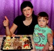 Назаровские мамы приняли участие во «Вкусном конкурсе по Правилам» от ГИБДД
