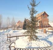 В поселке Строителей будет своя зимняя горка