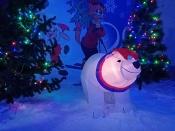 Назаровцам предложили создать настоящее новогоднее настроение