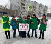 Назаровские помощники ГИБДД угощали водителей чаем