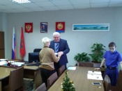 В администрации города Назарово состоялось очередное вручение ключей