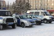 Начальник полиции Андрей Фомин провел инструктаж нарядов комплексных сил