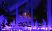 В Назаровском районе заглядывали в окна и определили лучший декор