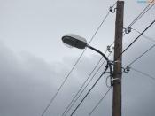 В конце весны город Назарово должен зажечься всеми уличными фонарями