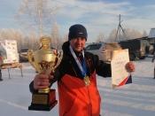 Сотрудник Назаровского разреза стал чемпионом края по рыболовному спорту