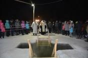 Лёд на Крещение должен выдержать всех. Купель уже начали вырубать