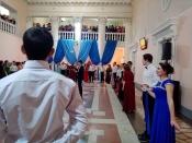 В городе Назарово состоялся юбилейный «Студенческий бал»