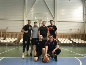 Назаровские пожарные лучше всех в городе играют в баскетбол