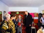 Солистка Народного коллектива «Горница» отметила свой 90-летний юбилей