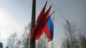 Ко Дню Победы в городе Назарово пересчитают флагштоки на столбах