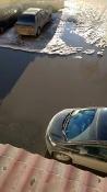 Под окнами квартир жителей города Назарово ежегодно появляется «море»